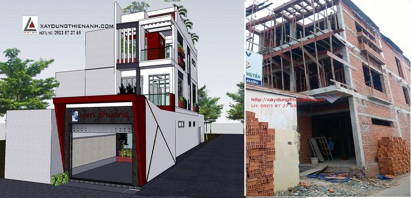 Công ty xây dựng nhà  phố uy tín 1