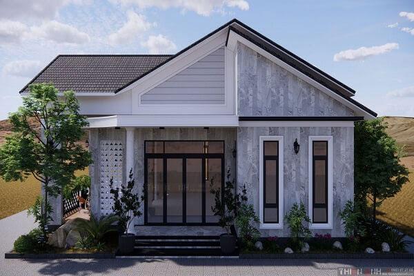 Những yếu tố ảnh hưởng đến chi phí xây nhà mái thái 1 tầng