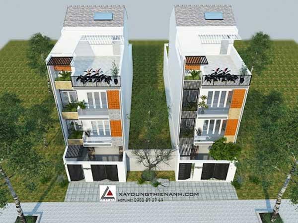 Địa chỉ thiết kế mẫu nhà phố 4 tầng đẹp, uy tín tại TPHCM