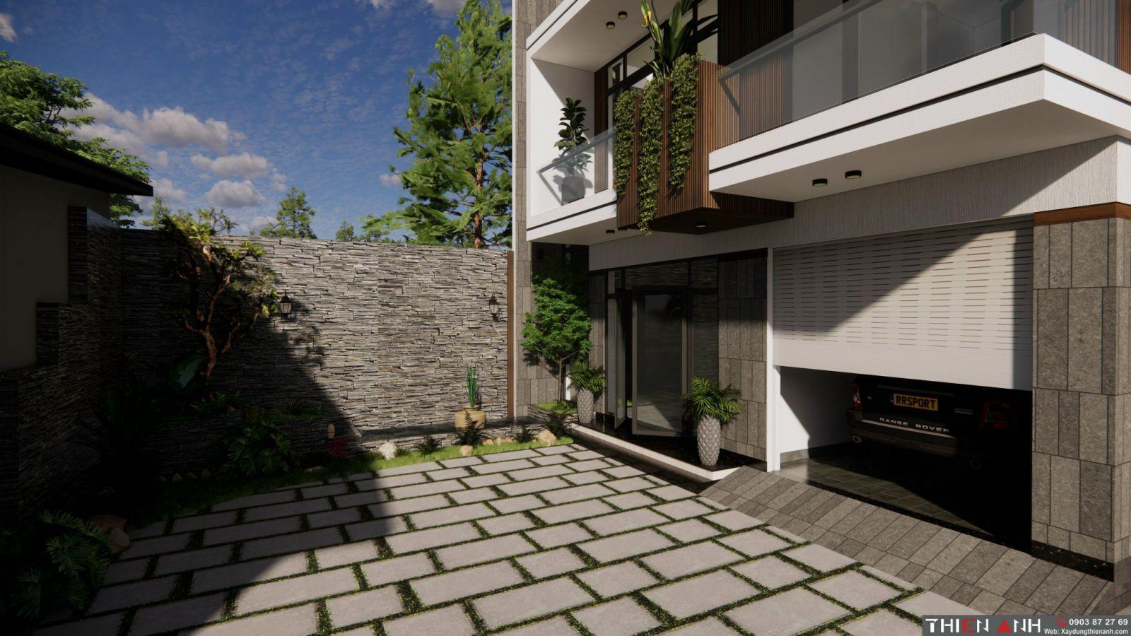 mẫu thiết kế nhà hiện đại năm 2021