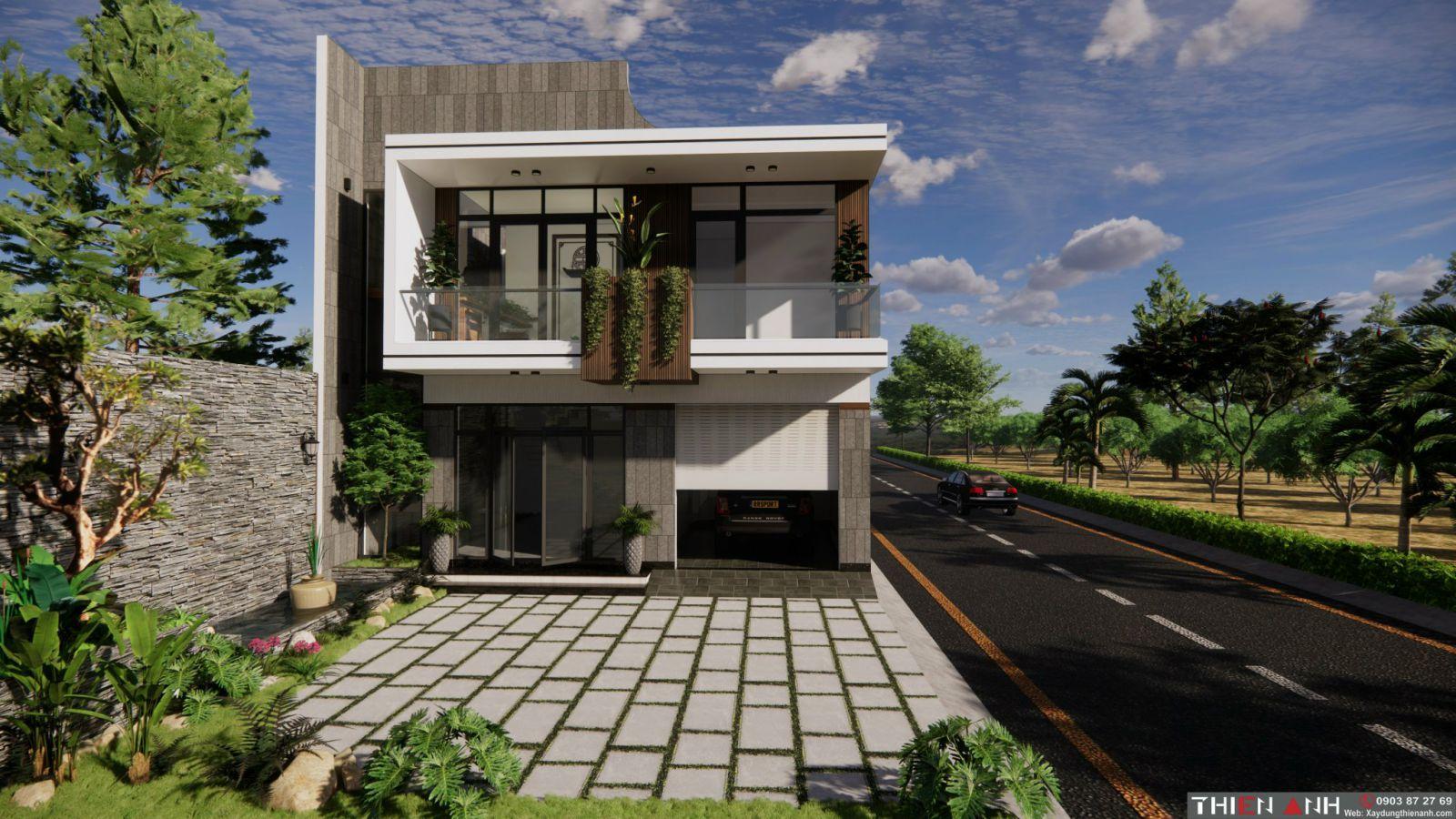 mẫu thiết kế nhà hiện đại 2021