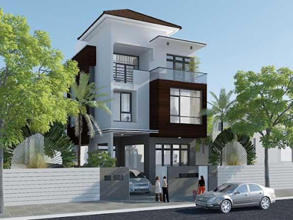 Xu hướng mẫu nhà phố 3 tầng hiện đại