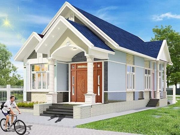 Nên làm nhà mái thái hay mái bằng