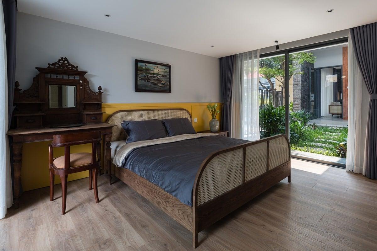 phòng ngủ nhà phố xanh xây dựng thiên anh