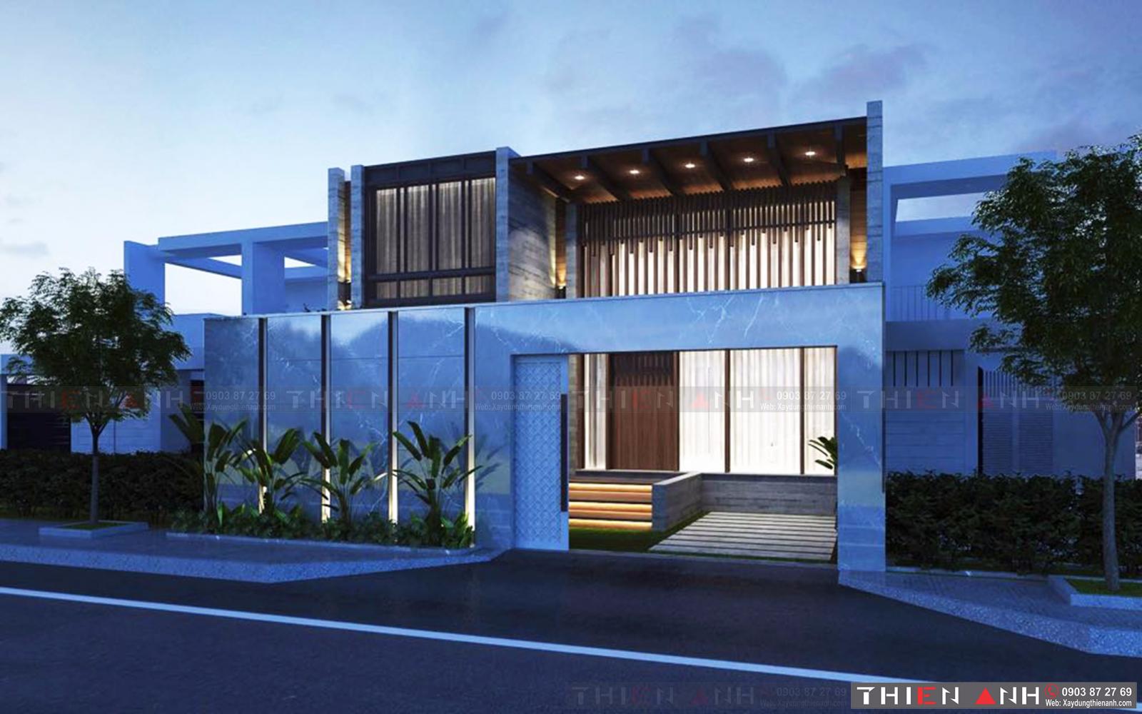 Mẫu thiết kế nhà Bình Dương số 2 mang vẻ đẹp hiện đại