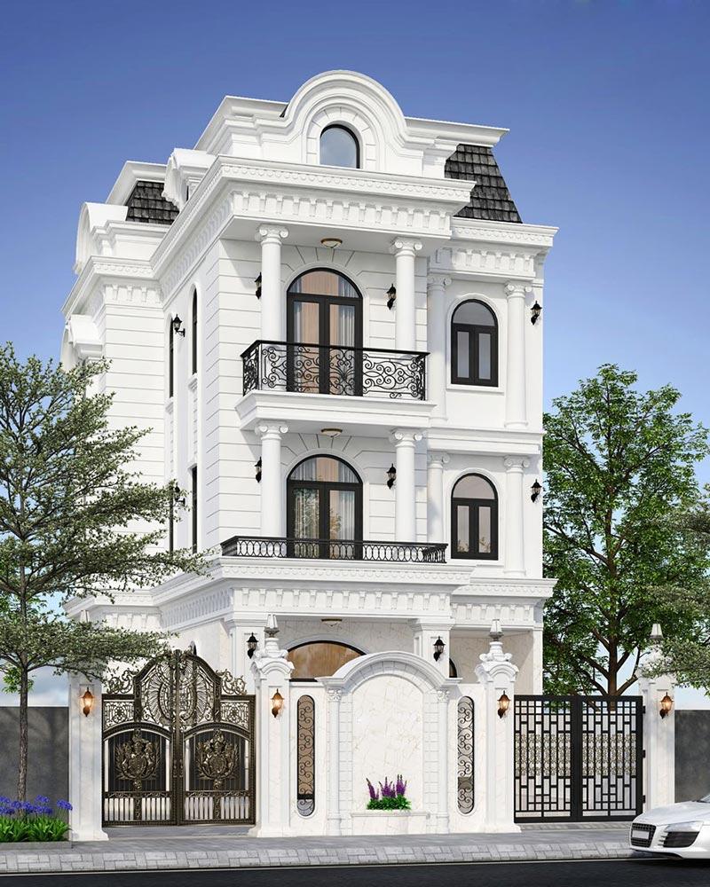 Phong cách thiết kế nhà phố cổ điển có gì đặc biệt