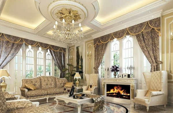 Chi tiết đặc điểm các phòng trong cách thiết kế nội thất biệt thự cổ điển