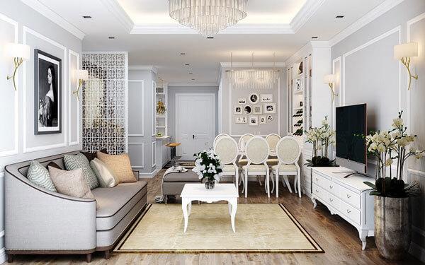 Tại sao phong cách thiết kế nội thất tân cổ điển lại được yêu thích đến vậy