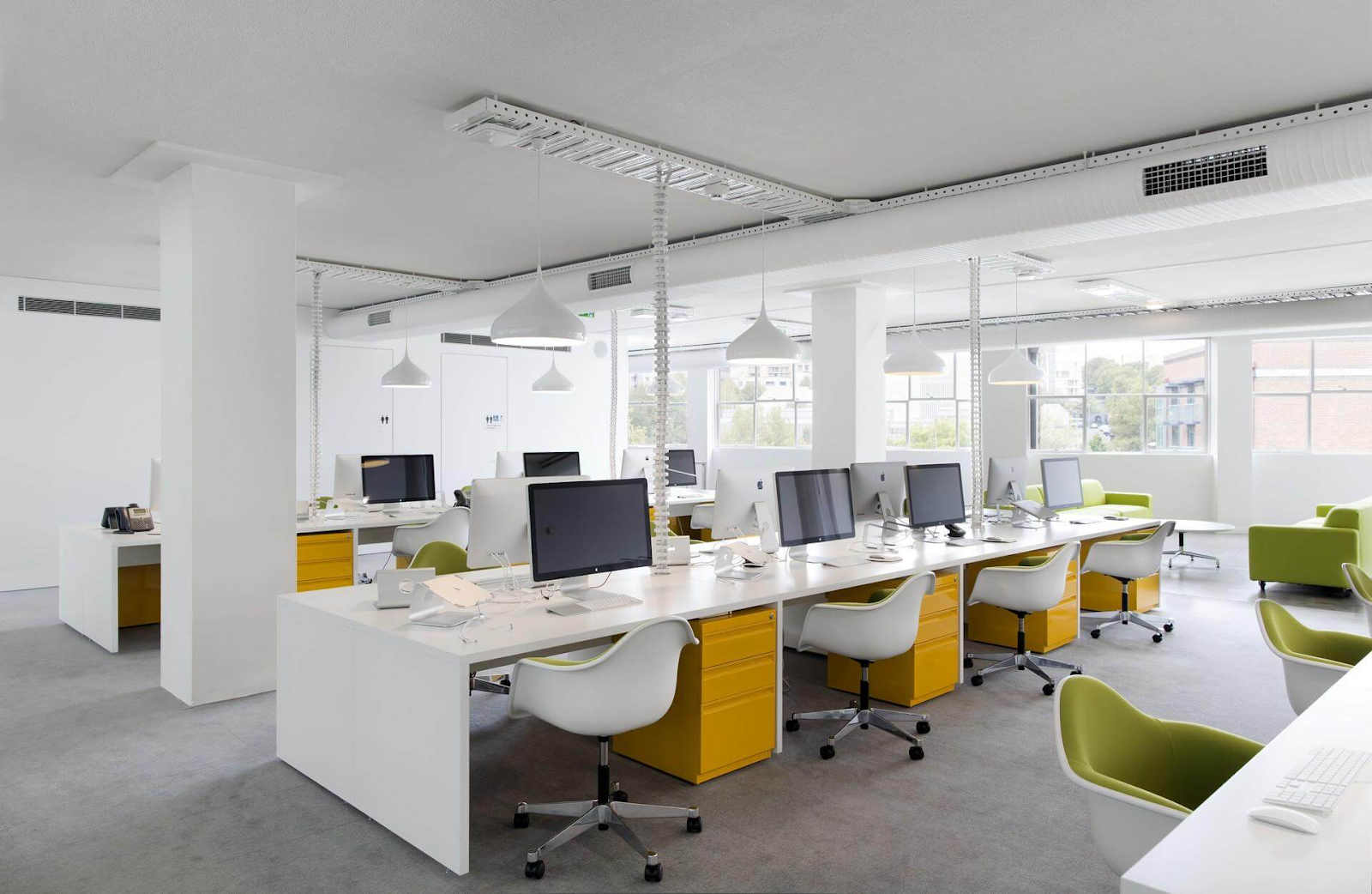 Mẫu văn phòng cho thuê đơn giản
