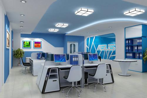 Mẫu thiết kế văn phòng mang tính nghệ thuật